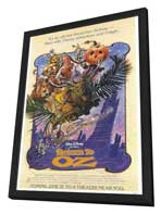 Return to Oz - 27 x 40 Movie Poster - Style A - in Deluxe Wood Frame