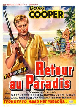 Return to Paradise - 27 x 40 Movie Poster - Belgian Style A