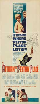 Return to Peyton Place - 14 x 36 Movie Poster - Insert Style A
