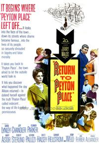 Return to Peyton Place - 27 x 40 Movie Poster - Style A