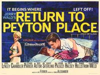 Return to Peyton Place - 11 x 14 Movie Poster - Style A