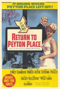 Return to Peyton Place - 27 x 40 Movie Poster - Style B