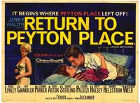 Return to Peyton Place - 43 x 62 Movie Poster - Bus Shelter Style A