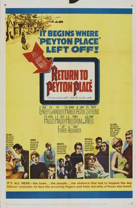 Return to Peyton Place - 22 x 28 Movie Poster - Half Sheet Style A