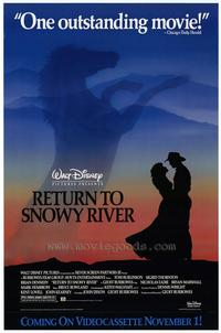 Return to Snowy River - 27 x 40 Movie Poster - Style A