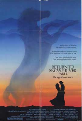Return to Snowy River Part 2 - 11 x 17 Movie Poster - Style A