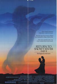 Return to Snowy River Part 2 - 27 x 40 Movie Poster - Style A