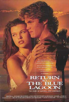 Return to the Blue Lagoon - 11 x 17 Movie Poster - Style A