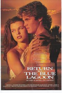 Return to the Blue Lagoon - 27 x 40 Movie Poster - Style A