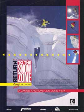 Return to the Snow Zone - 11 x 17 Movie Poster - Style A