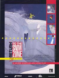 Return to the Snow Zone - 27 x 40 Movie Poster - Style A