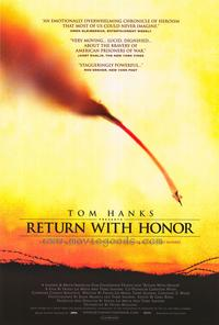 Return with Honor - 43 x 62 Movie Poster - Bus Shelter Style A
