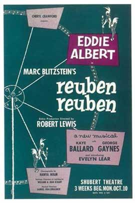 Reuben Reuben (Broadway) - 14 x 22 Poster - Style A