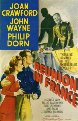 Reunion in France - 11 x 17 Movie Poster - Style A