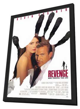 Revenge - 11 x 17 Movie Poster - Style A - in Deluxe Wood Frame