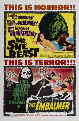 Revenge of the Blood Beast - 11 x 17 Movie Poster - Style A