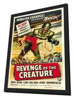 Revenge of the Creature - 27 x 40 Movie Poster - Style B - in Deluxe Wood Frame