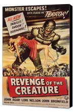 Revenge of the Creature - 11 x 17 Movie Poster - Style C - Museum Wrapped Canvas