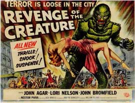 Revenge of the Creature - 11 x 17 Movie Poster - Style B