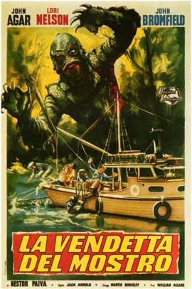 Revenge of the Creature - 11 x 17 Poster - Foreign - Style A