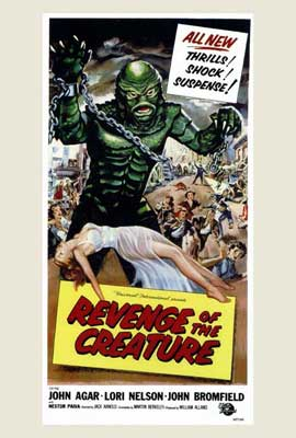 Revenge of the Creature - 27 x 40 Movie Poster - Style A