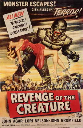 Revenge of the Creature - 11 x 17 Movie Poster - Style C