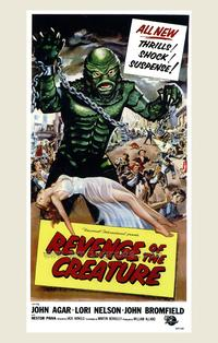 Revenge of the Creature - 43 x 62 Movie Poster - Bus Shelter Style A