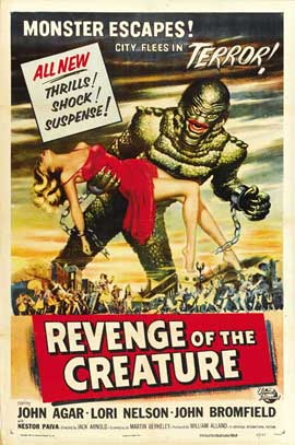 Revenge of the Creature - 27 x 40 Movie Poster - Style B