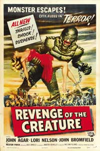 Revenge of the Creature - 43 x 62 Movie Poster - Bus Shelter Style B