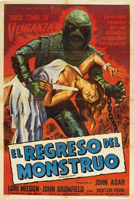 Revenge of the Creature - 27 x 40 Movie Poster - Spanish Style A