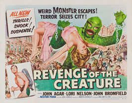 Revenge of the Creature - 22 x 28 Movie Poster - Half Sheet Style A