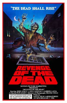 Revenge of the Dead - 27 x 40 Movie Poster - Style A