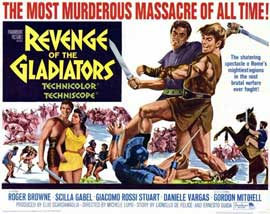 Revenge of the Gladiators - 11 x 14 Movie Poster - Style A