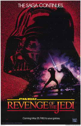 Revenge of the Jedi - 11 x 17 Movie Poster - Style A