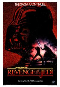 Revenge of the Jedi - 43 x 62 Movie Poster - Bus Shelter Style B