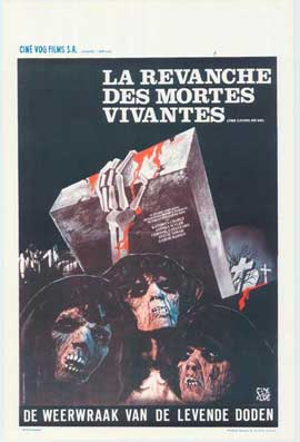 Revenge of the Living Dead Girls - 11 x 17 Movie Poster - Belgian Style A