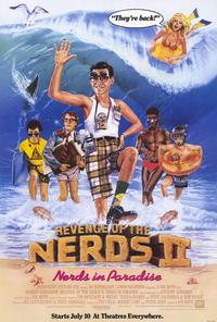 Revenge of the Nerds 2: Nerds in Paradise - 27 x 40 Movie Poster - Style A