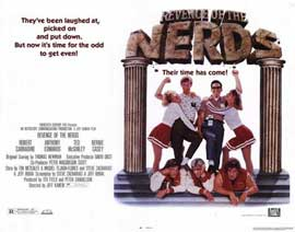 Revenge of the Nerds - 22 x 28 Movie Poster - Half Sheet Style A