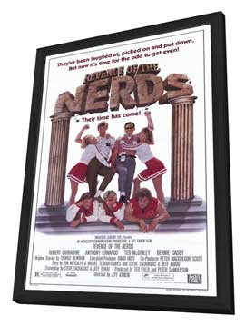 Revenge of the Nerds - 27 x 40 Movie Poster - Style A - in Deluxe Wood Frame