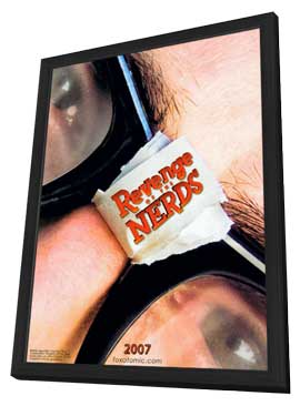 Revenge of the Nerds - 11 x 17 Movie Poster - Style A - in Deluxe Wood Frame
