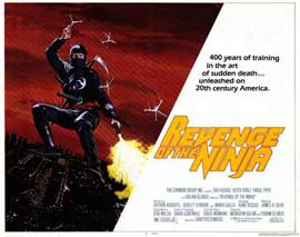 Revenge of the Ninja - 11 x 14 Movie Poster - Style A