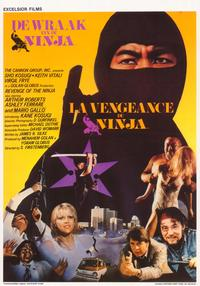 Revenge of the Ninja - 11 x 17 Movie Poster - Belgian Style A