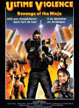 Revenge of the Ninja - 11 x 17 Movie Poster - French Style A