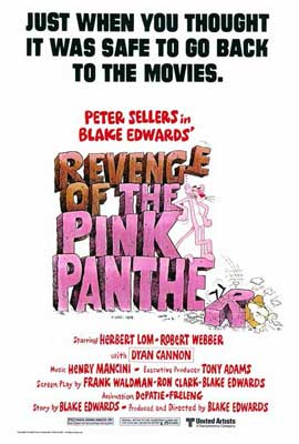 Revenge of the Pink Panther - 27 x 40 Movie Poster - Style A