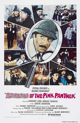 Revenge of the Pink Panther - 11 x 17 Movie Poster - Style D