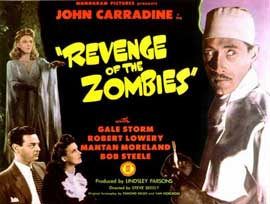 Revenge of the Zombies - 11 x 14 Movie Poster - Style A