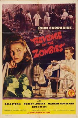 Revenge of the Zombies - 11 x 17 Movie Poster - Style A