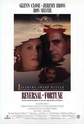 Reversal of Fortune - 11 x 17 Movie Poster - Style B