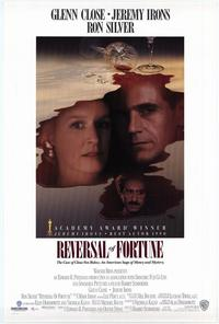 Reversal of Fortune - 43 x 62 Movie Poster - Bus Shelter Style A