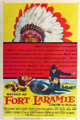 Revolt at Fort Laramie - 11 x 17 Movie Poster - Style A